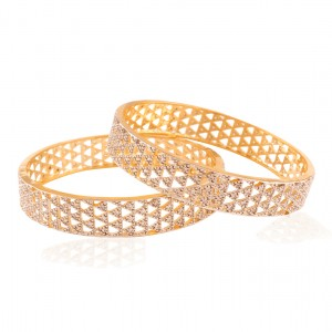 Buy Hi-fliers choice Gold plated ad bangle Online