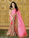 Karishma Kapoor In New Latest Designer Pink Saree