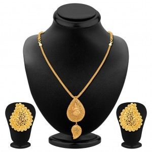 Buy Sukkhi Pleasing Gold Plated Necklace Set Online