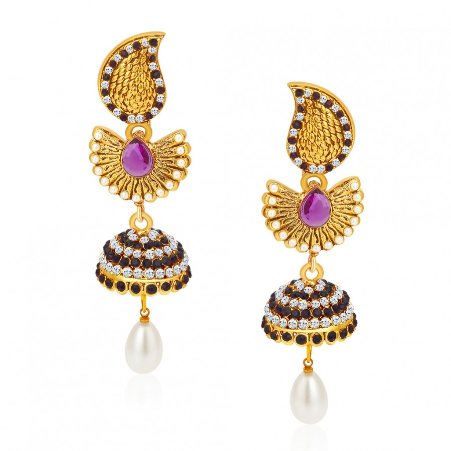 Buy Sukkhi Bewitching Gold Plated Earrings For Women Online