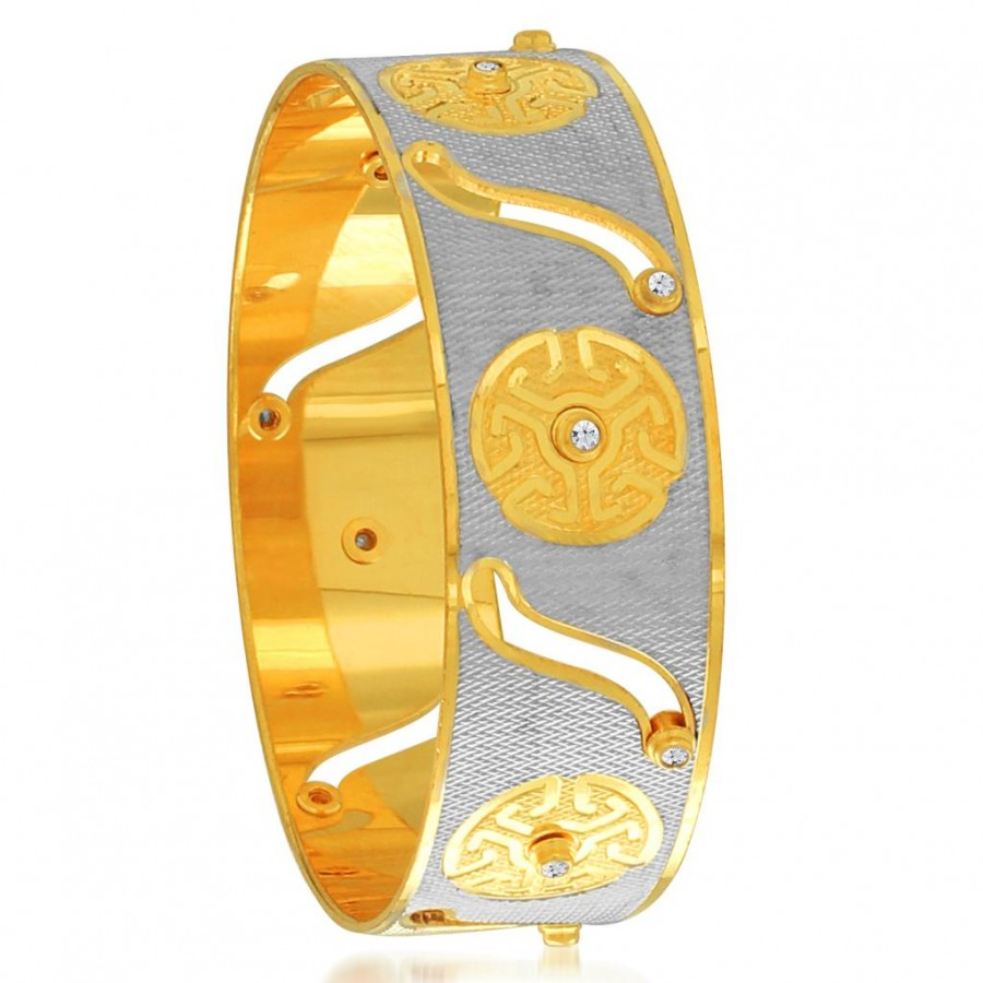 Buy Sukkhi Fine Gold and Rhodium Plated Dancing Kada for Women Online