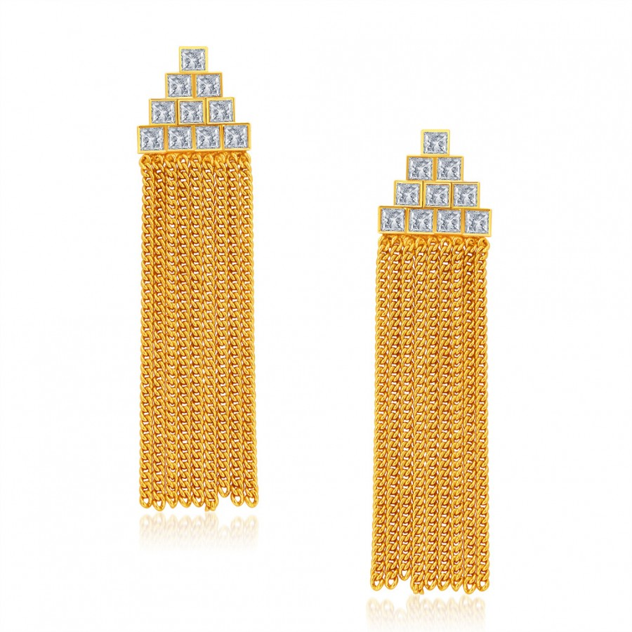 Buy Sukkhi Exquitely Gold Plated Earring For Women Online