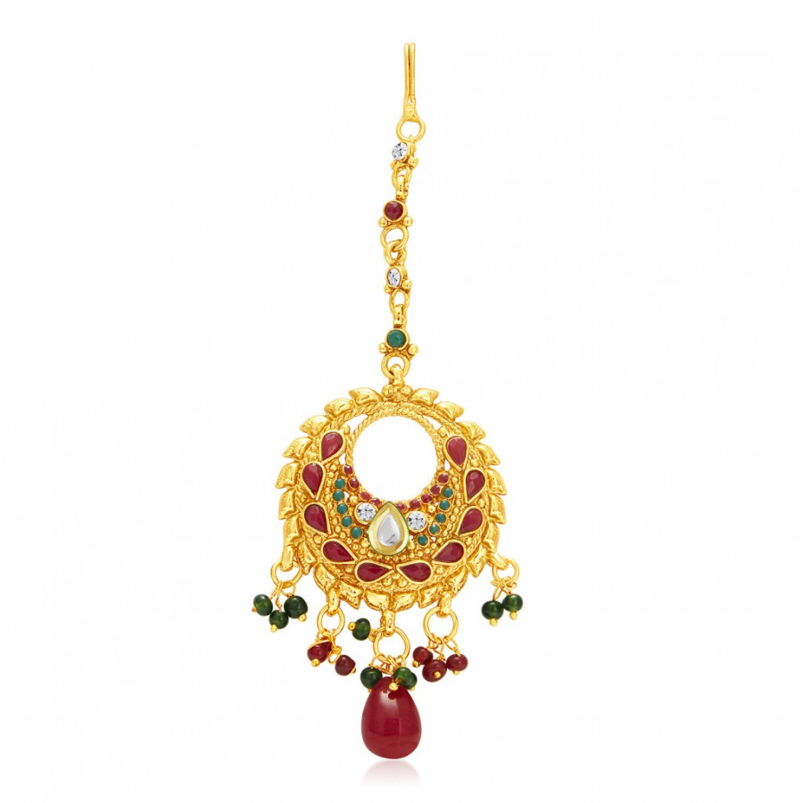 Buy Sukkhi Marquise Gold Plated Passa For Women Online