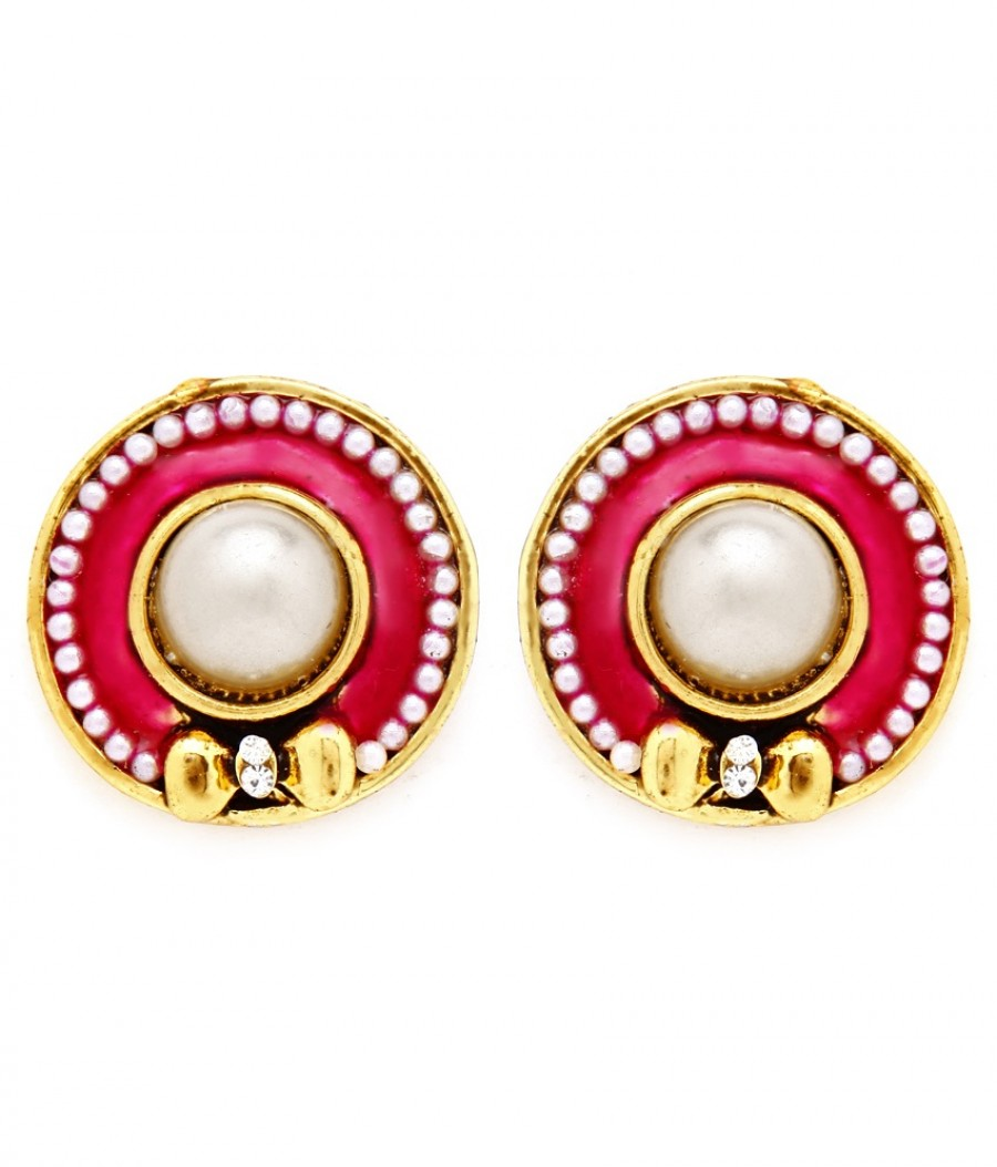 Buy Sukkhi Exquitely Gold Plated Pearl Earring For Women Online
