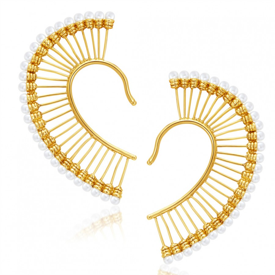 Buy Sukkhi Bewitching Gold Plated Earcuff For Women Online
