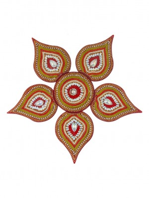 Buy Sukkhi Rangoli in Traditional Red Colour Online
