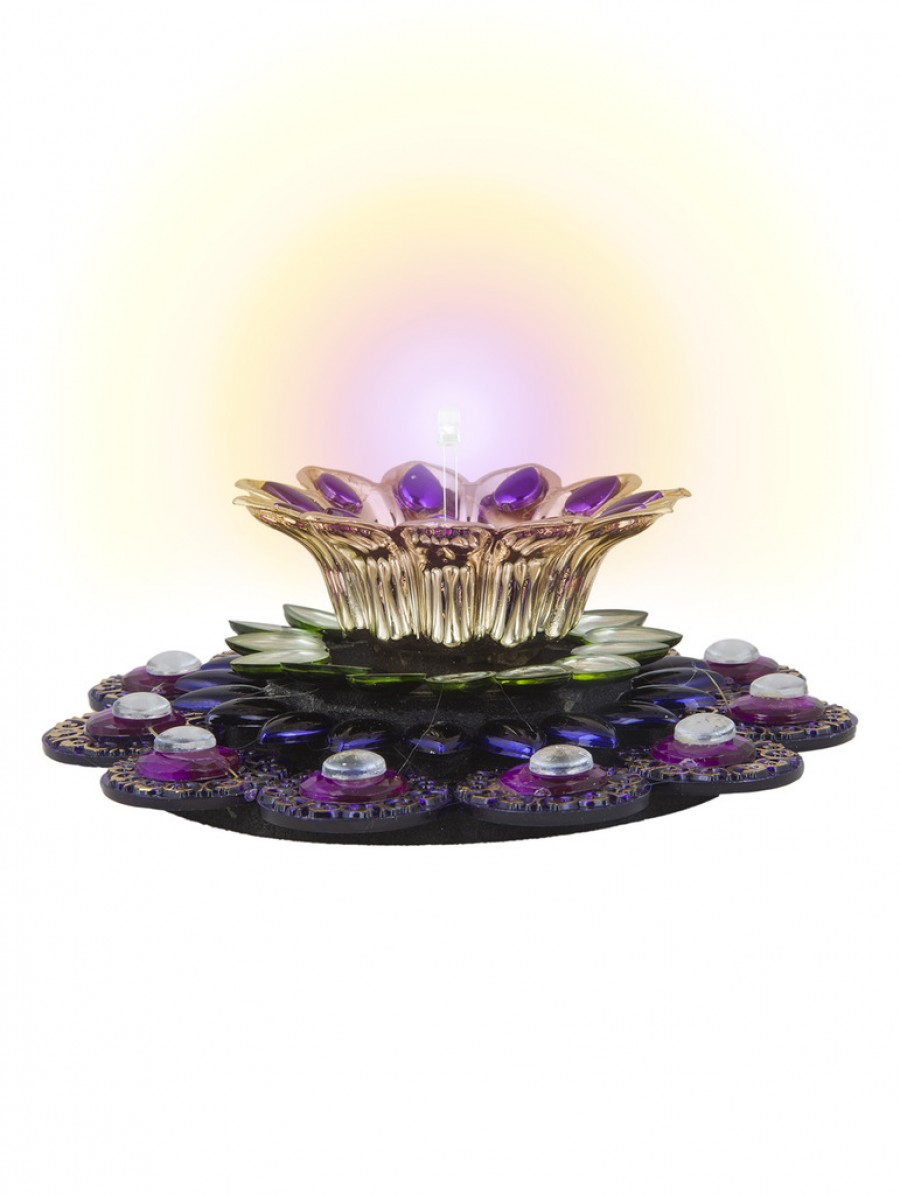 Buy Sukkhi Radiant Purple Electronic Diya Candle Online