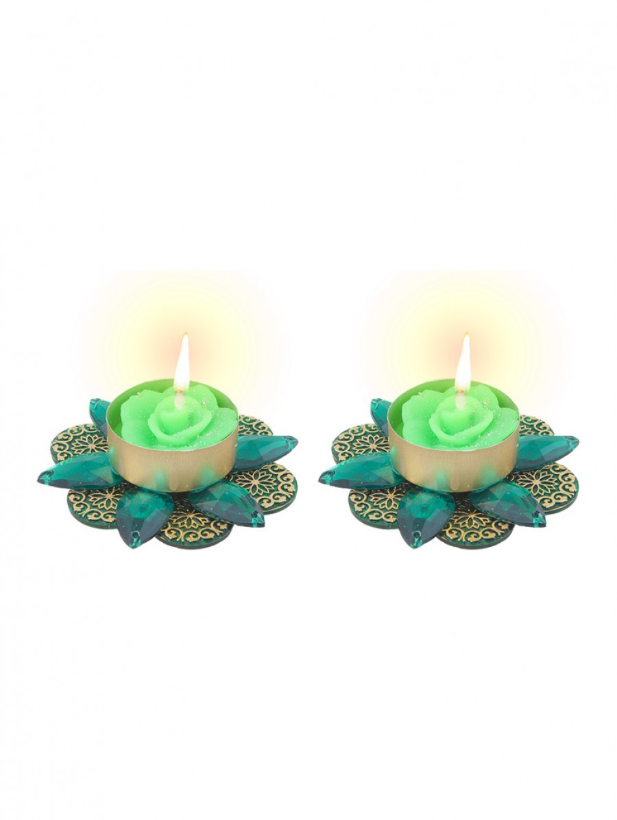 Buy Sukkhi Diya Candle in Dual Colour Online