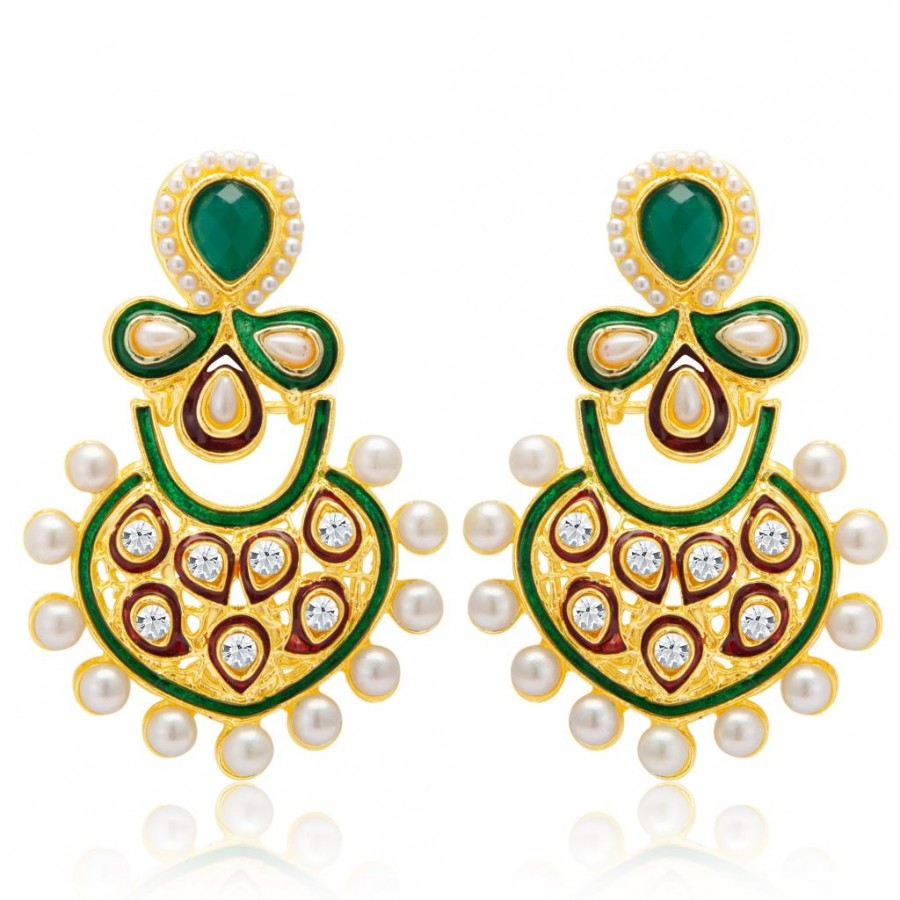 Buy Sukkhi Charming Gold Plated Earring for Women Online