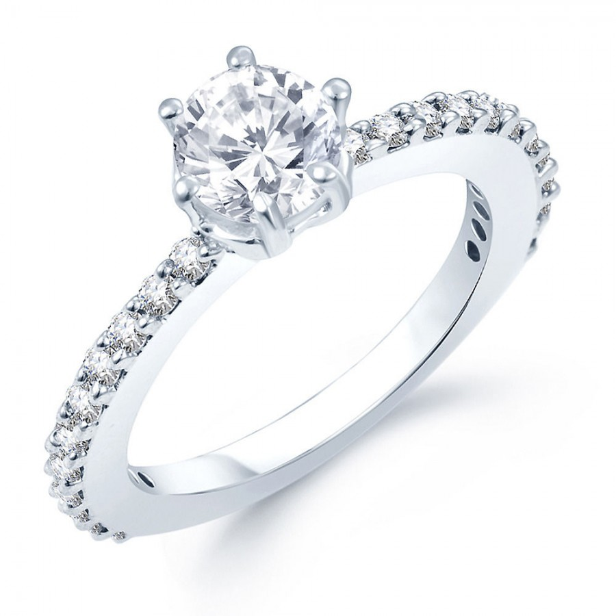 Buy Pissara Moddish Rhodium Plated CZ Ring Online