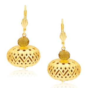 Buy Sukkhi Delightly Gold Plated Earrings For Women Online