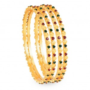 Buy Sukkhi Gold Plated Color bangles - 1126VB900 Online