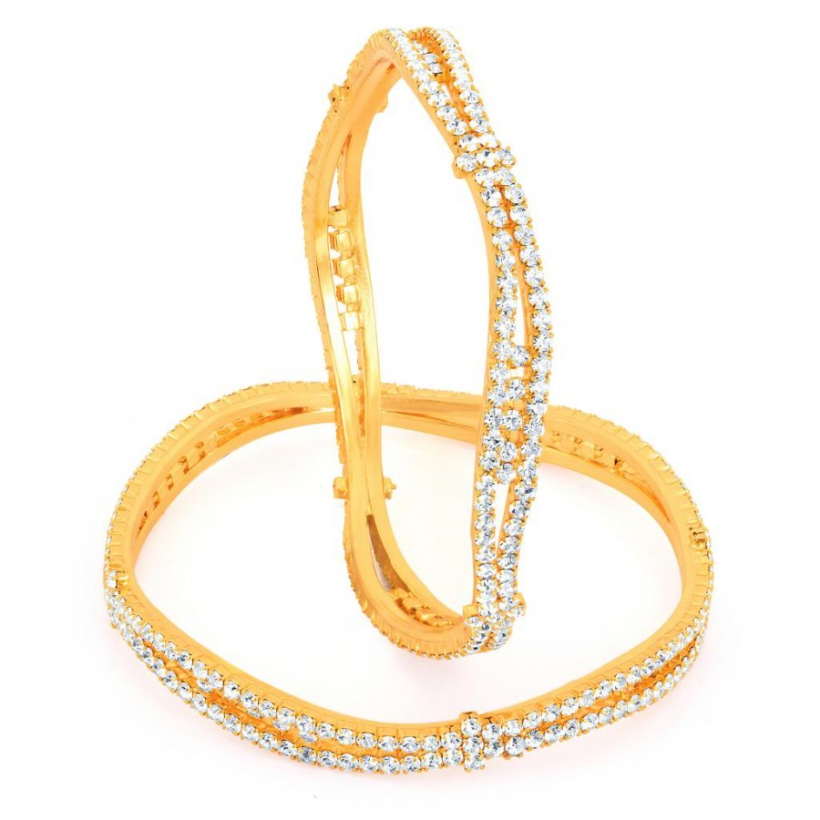 Buy Sukkhi Gold Plated AD Stone bangles - 1139VB1250 Online