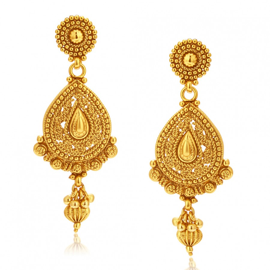Buy Sukkhi Delightly Gold Plated Earring For Women Online