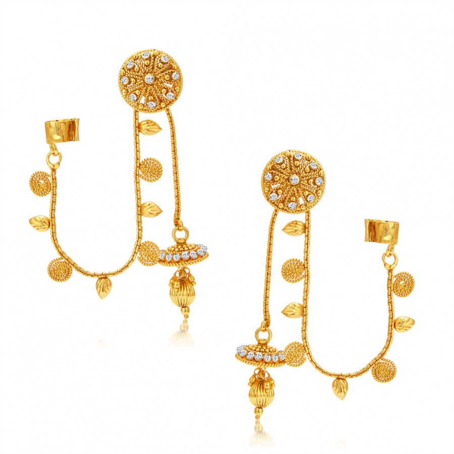 Buy Sukkhi Youthful Gold Plated Earcuff For Women Online