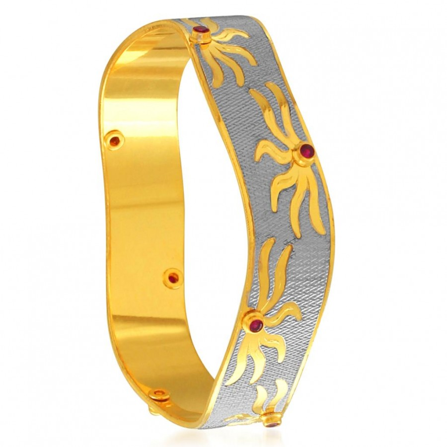 Buy Sukkhi Astonishing Gold and Rhodium Plated Dancing Kada for Women Online