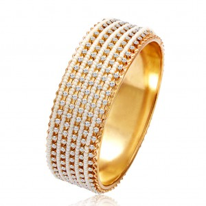 Buy Sukkhi Delightful Gold Plated Kada For Women Online