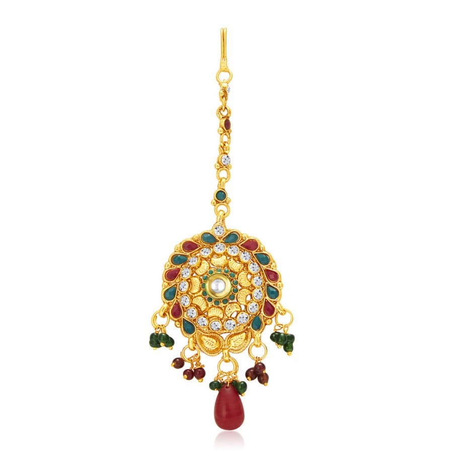 Buy Sukkhi Royal Gold Plated Passa For Women Online