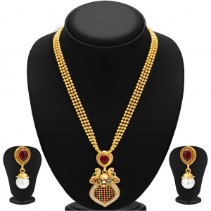 Buy Sukkhi Incredible Gold Plated Necklace Set For Women Online