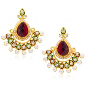 Buy Sukkhi Royal Gold Plated Earring for Women Online