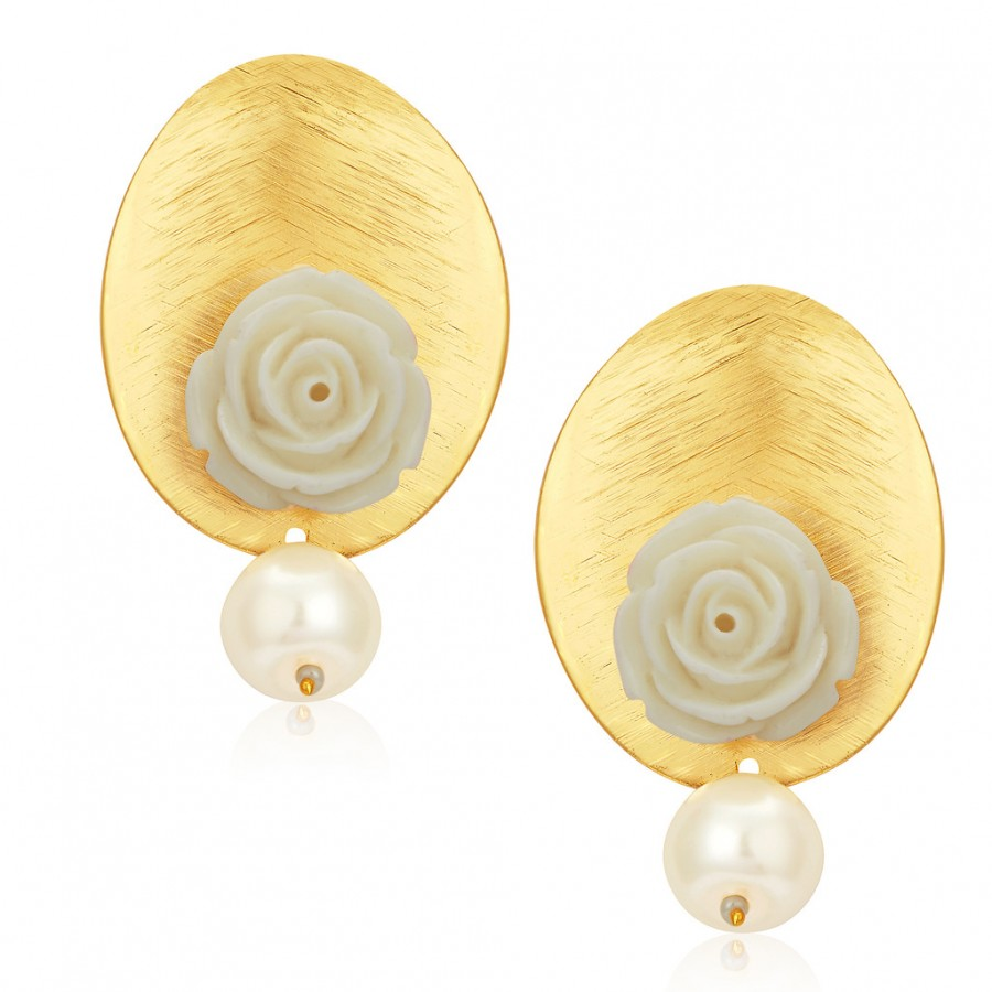 Buy Sukkhi Beguiling Gold Plated Earrings For Women Online