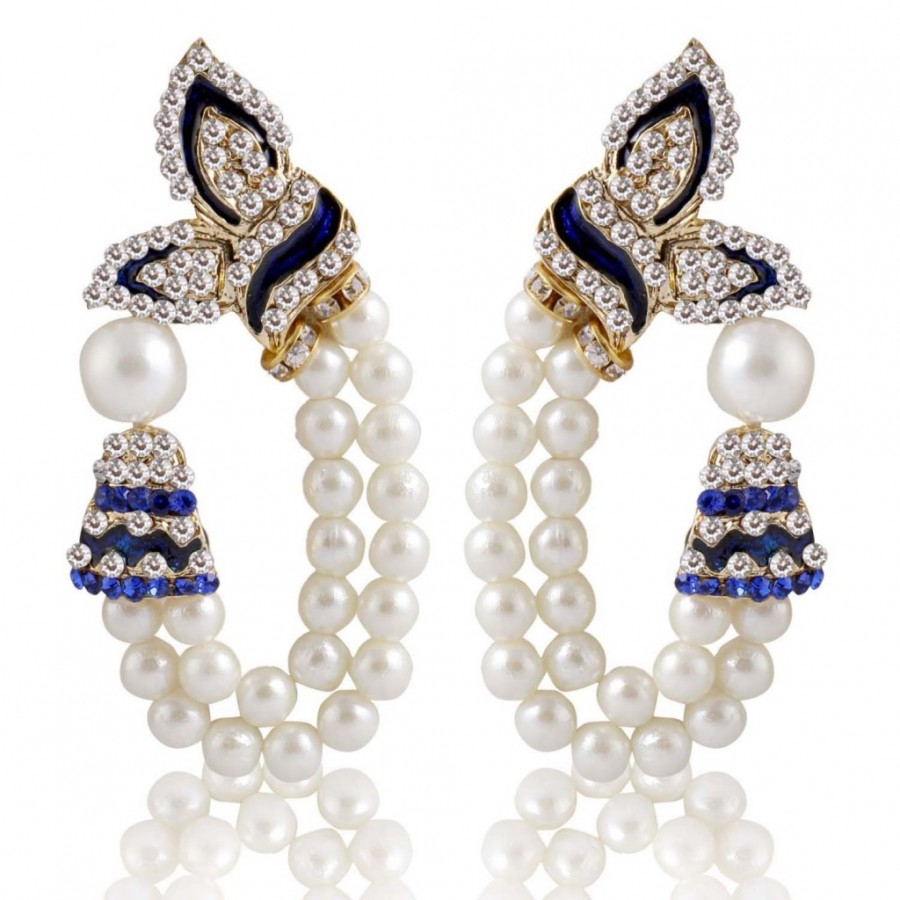 Buy Sukkhi Attractive Gold Plated Pearl Earring For Women Online