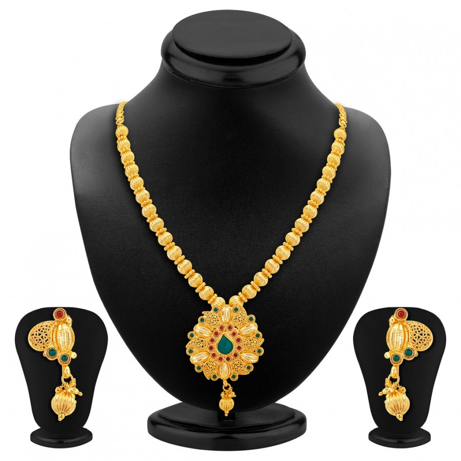 Buy Sukkhi Incredible Gold Plated Necklace Set Online