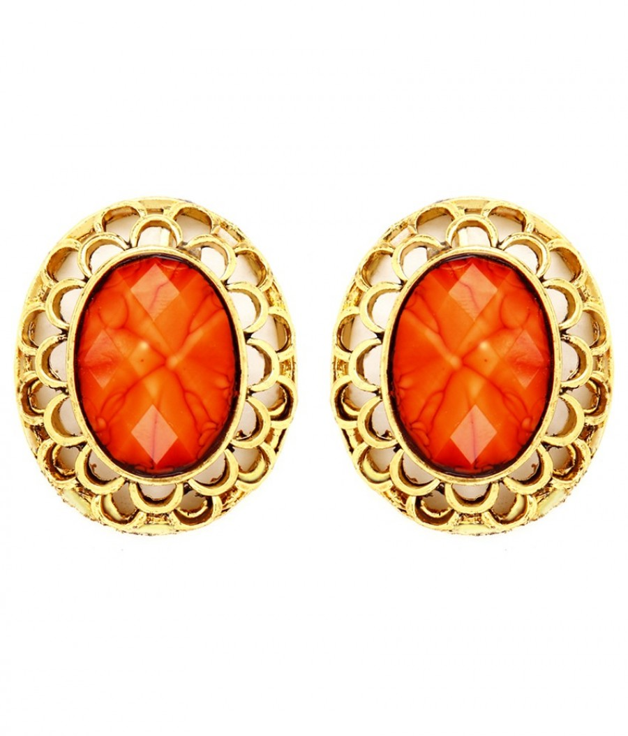 Buy Sukkhi Bewitching Gold Plated Earring For Women Online
