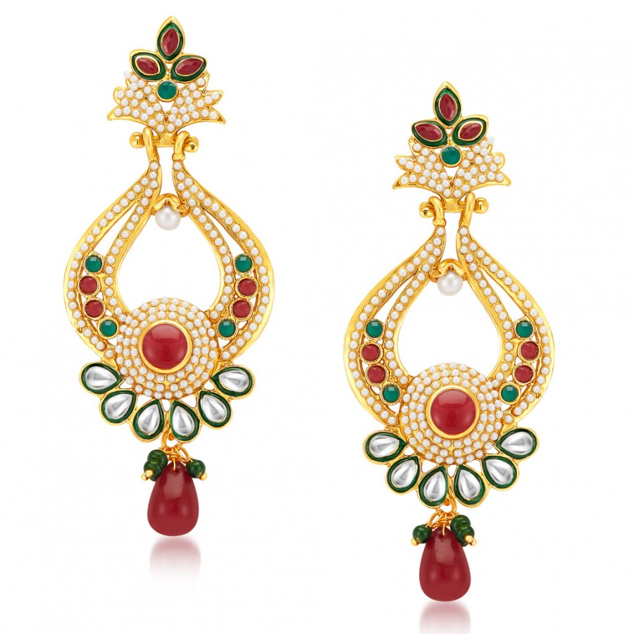 Buy Sukkhi Splendid Gold Plated Earrings Online