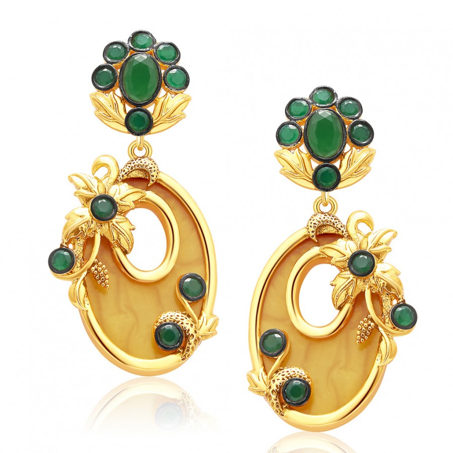 Buy Sukkhi Gorgeous Gold Plated Earring For Women Online