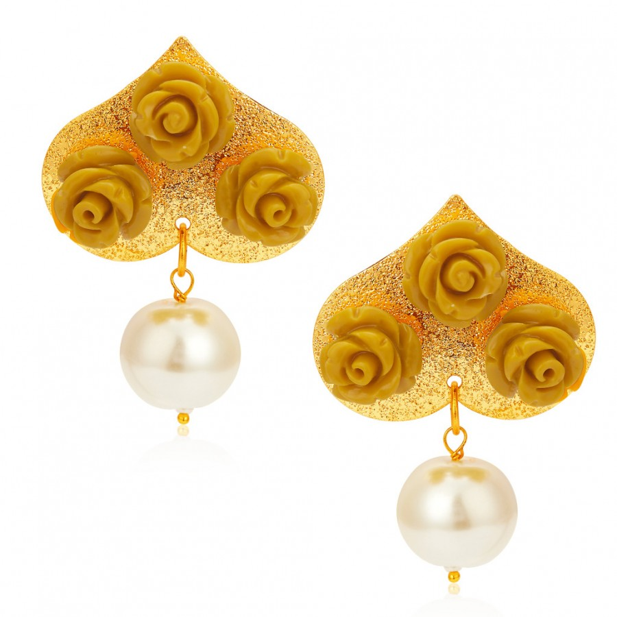 Buy Sukkhi Astonish Gold Plated Earring For Women Online