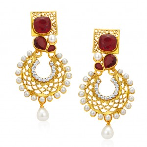 Buy Sukkhi Fashionable Gold Plated Earrings For Women Online