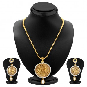 Buy Sukkhi Delightful Gold Plated Pendant Set For Women Online