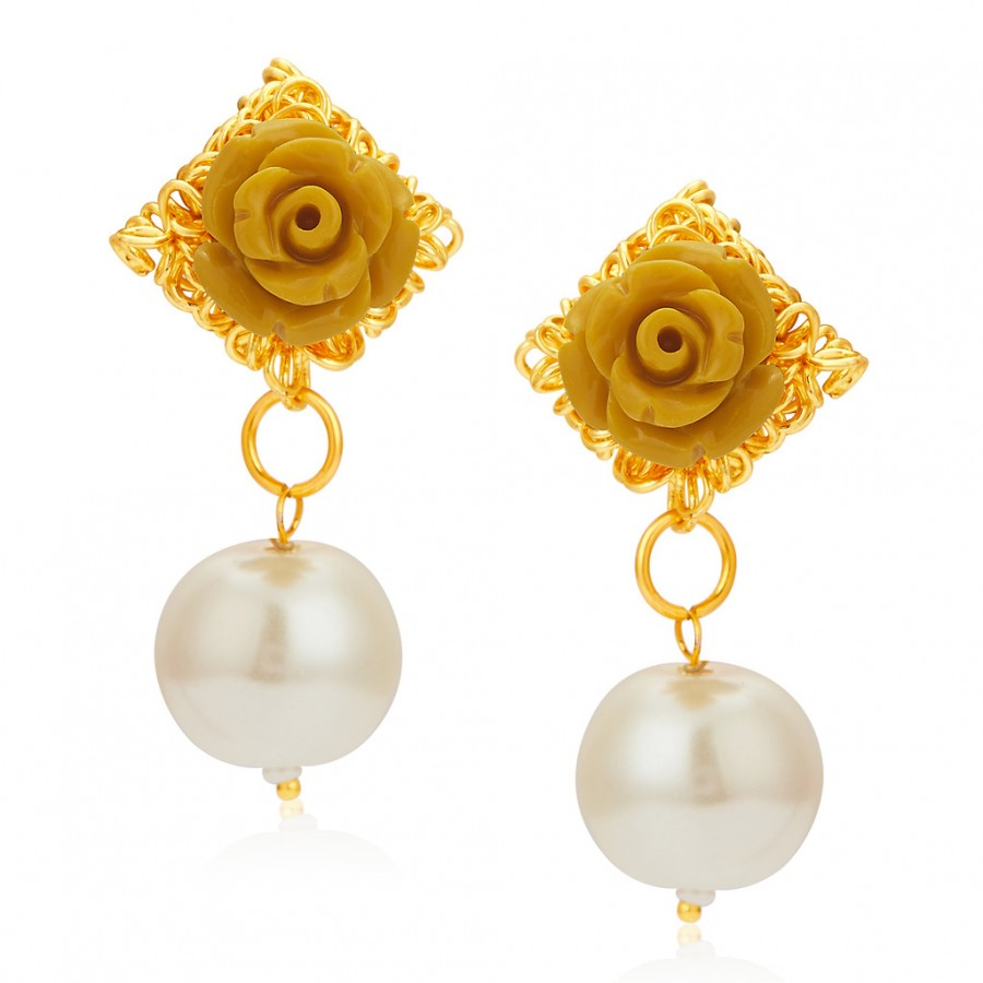 Buy Sukkhi Youthful Gold Plated Earrings For Women Online
