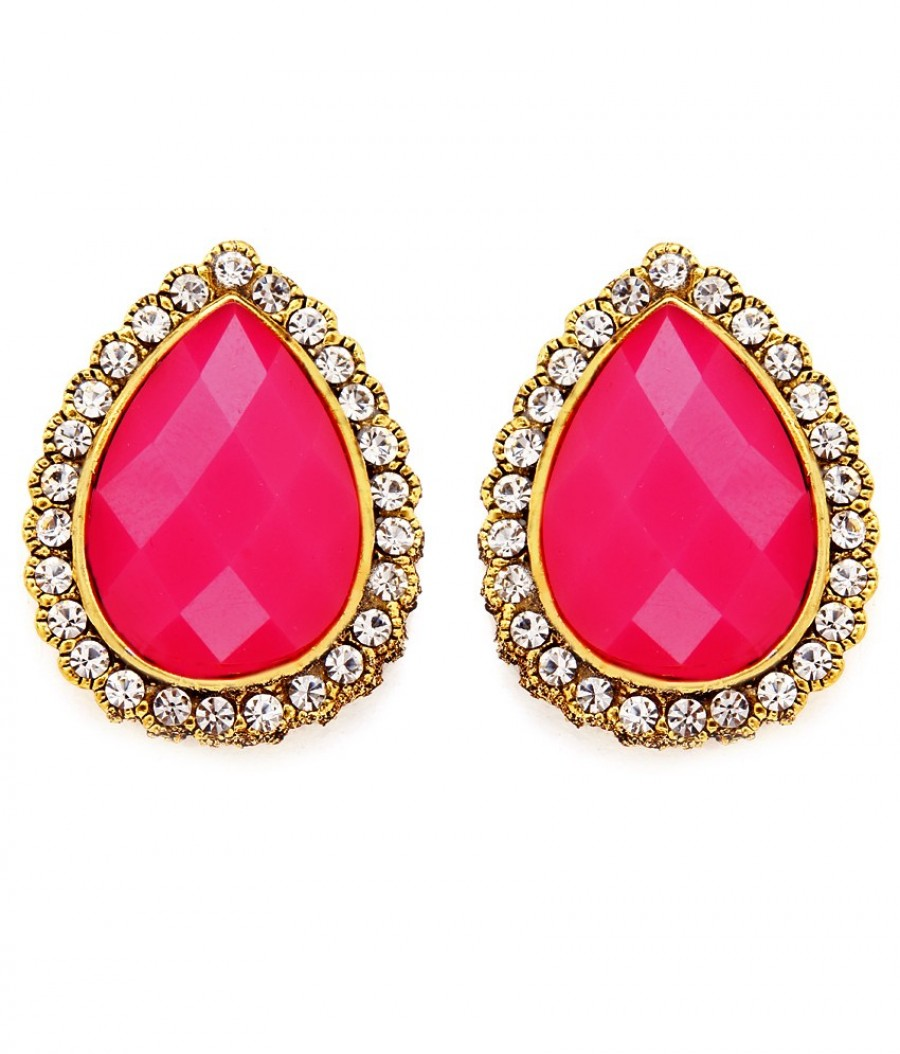 Buy Sukkhi Splendid Gold Plated AD Earring For Women Online