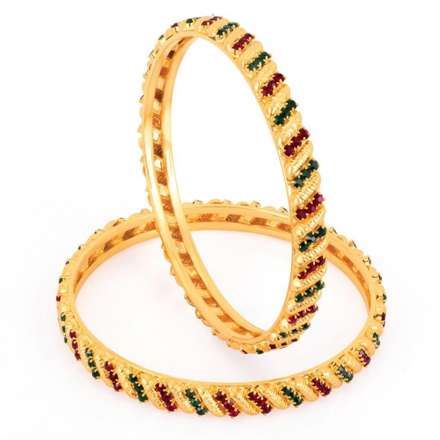 Buy Sukkhi Gold Plated Color bangles - 1127VB900 Online