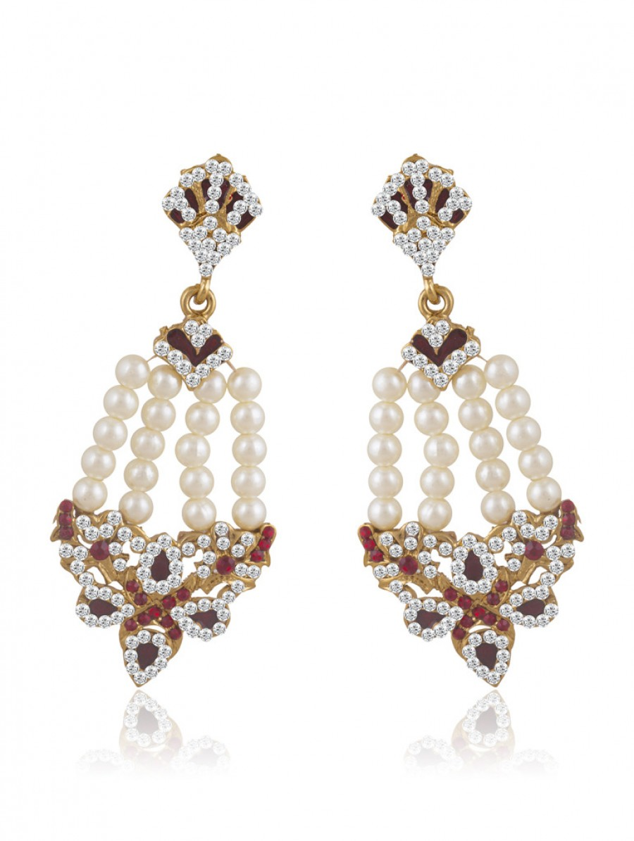 Buy Sukkhi Appealing Gold Plated Pearl Earring For Women Online