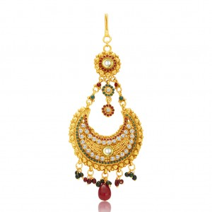Buy Sukkhi Charming Gold Plated Passa For Women Online