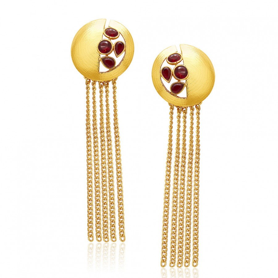 Buy Sukkhi Modern Mehandi Plated Earring For Women Online
