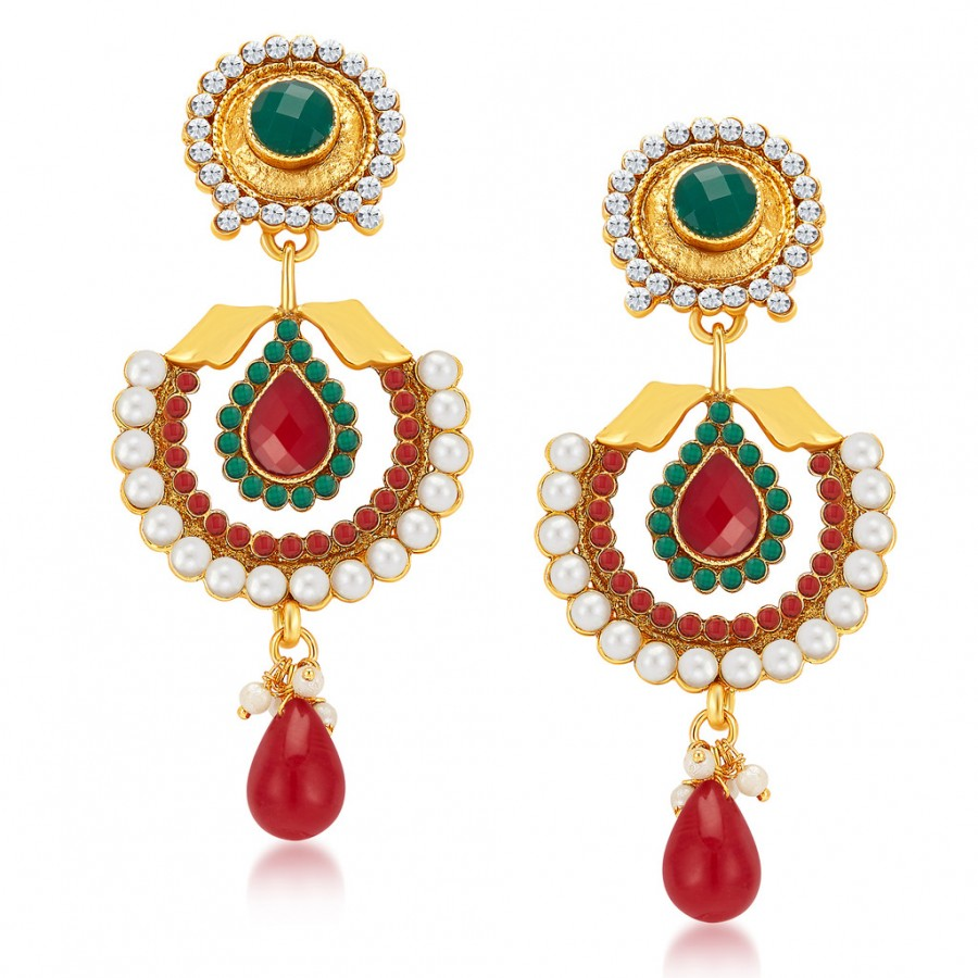 Buy Sukkhi Modish Gold Plated Earrings Online