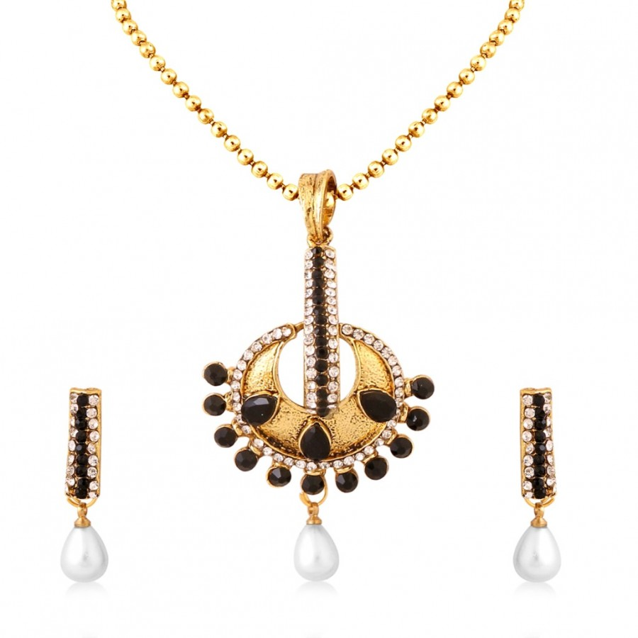 Buy Sukkhi Finely Gold Plated Pendant Set For Women Online