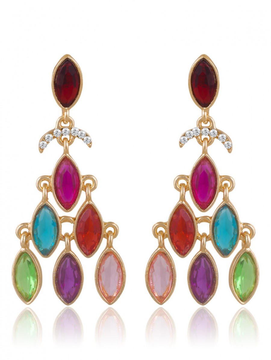Buy Sukkhi Eye-Catchy Gold Plated Earring For Women Online