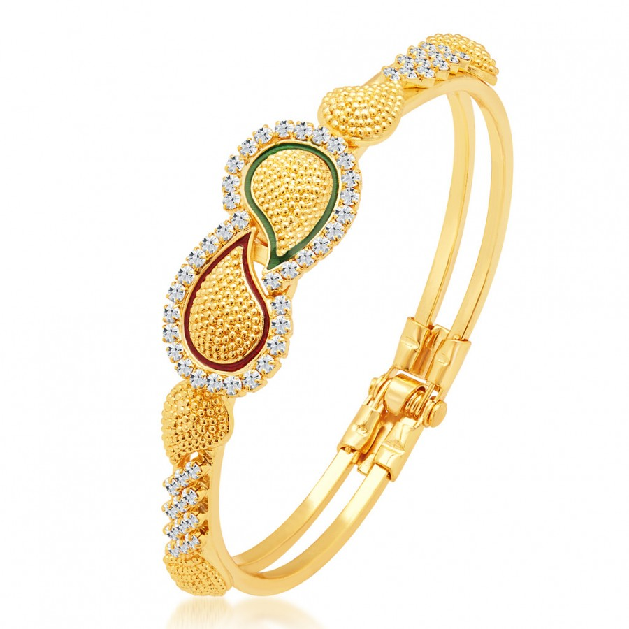 Buy Sukkhi Gorgeous Gold Plated Kada Online