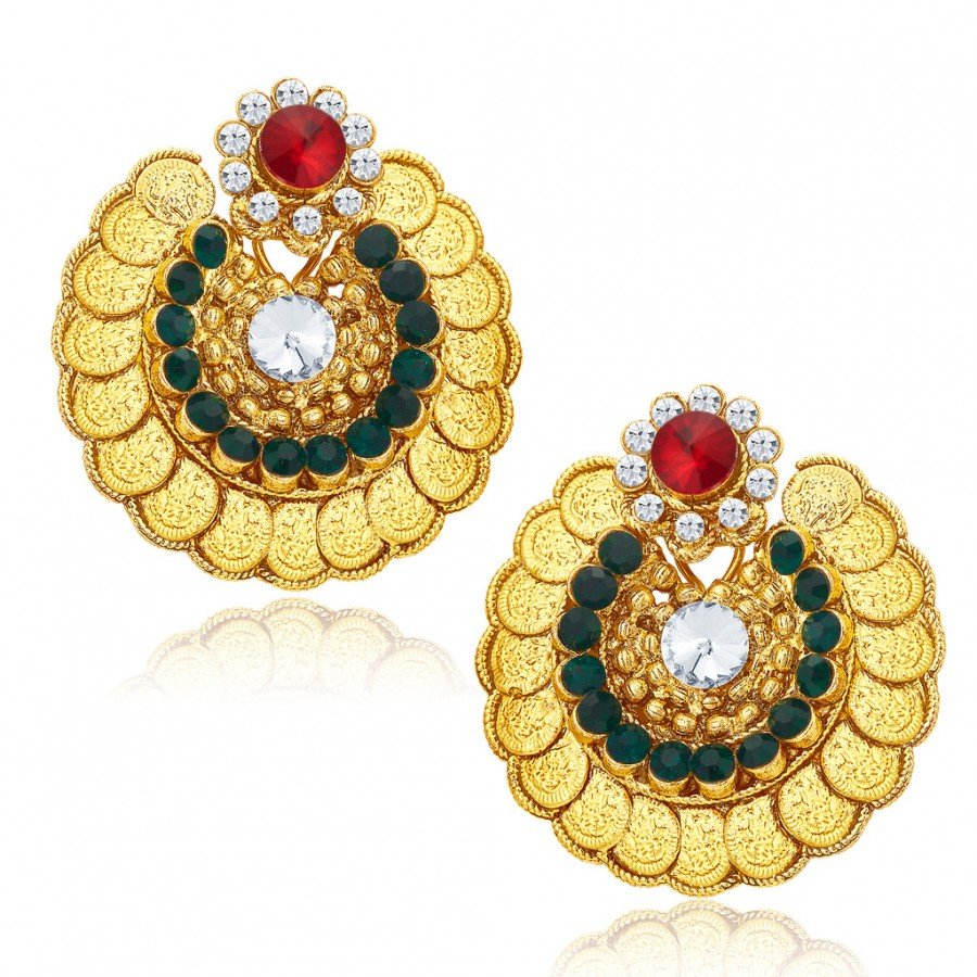Buy Sukkhi Charming Gold Plated Earrings For Women Online