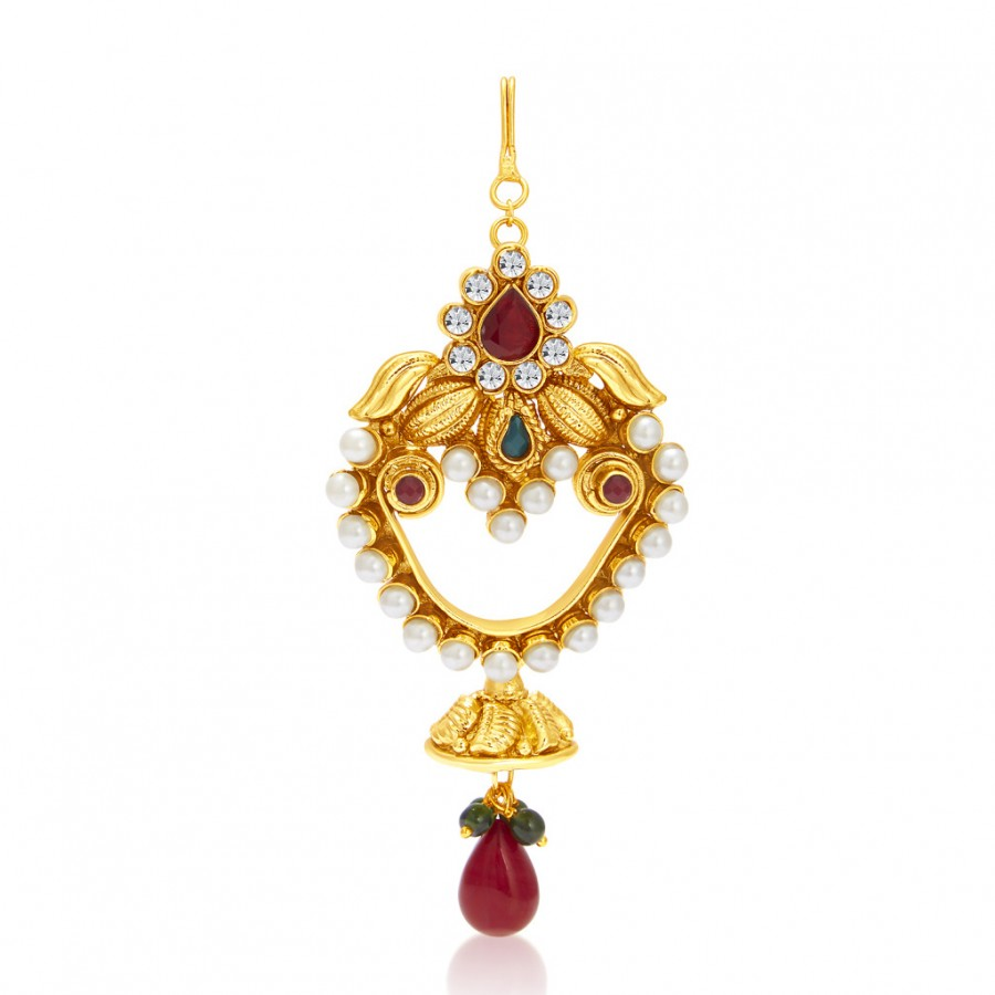 Buy Sukkhi Sparkling Gold Plated Passa For Women Online