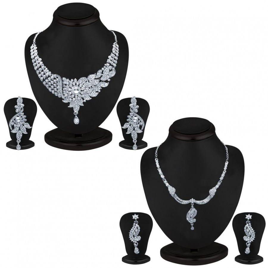 Buy Sukkhi Exotic 2 Piece Necklace Set Combo Online