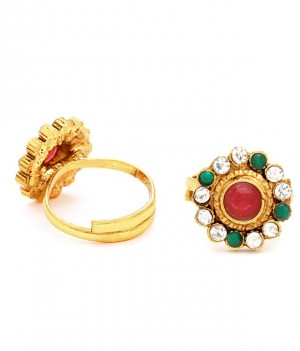 Buy Sukkhi Gracefull Gold Plated Australian Diamond Stone Studded Toering Online