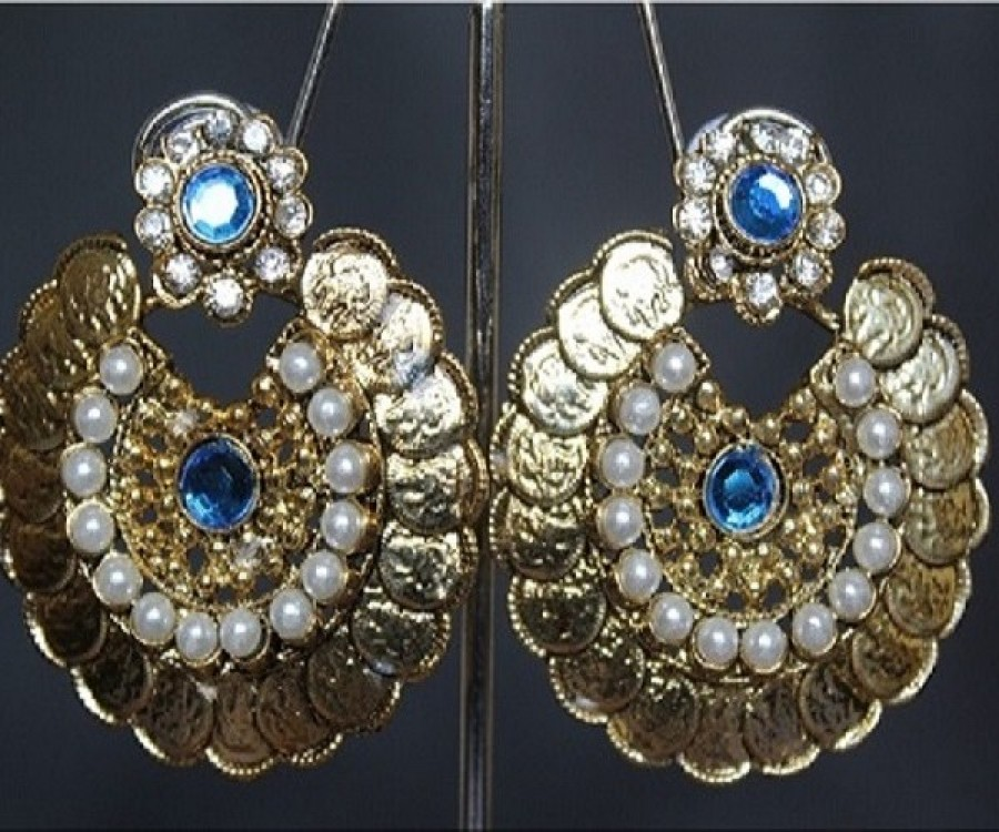 Buy Traditional Temple Lakshmi earrings Online