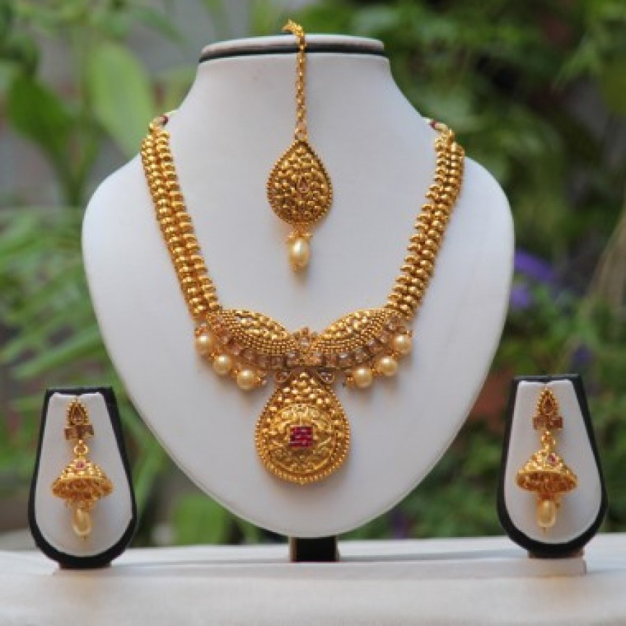 Buy Necklace Set Online | Necklace Jewellery Set Online india