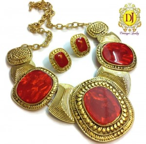 Buy Grand red Necklace Online